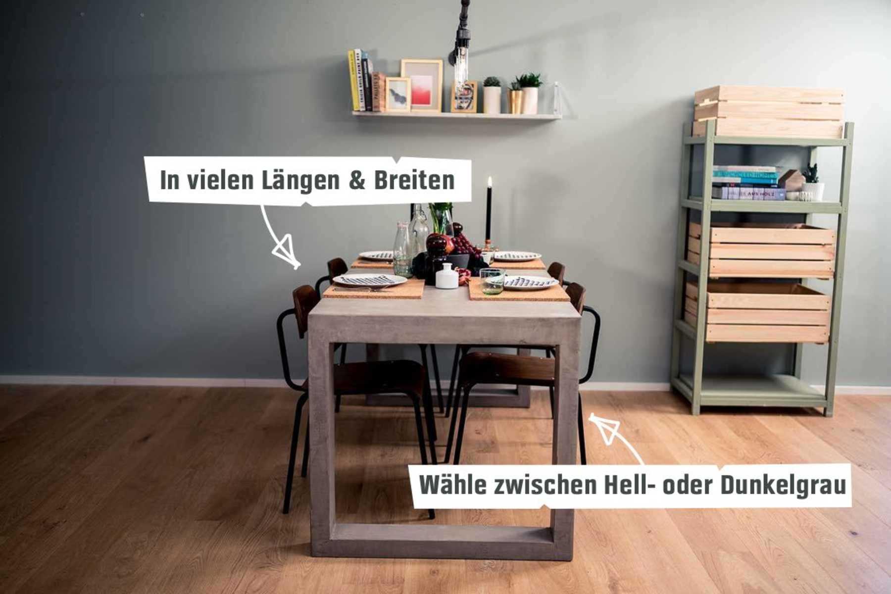 Betontisch Kalle Create By Obi