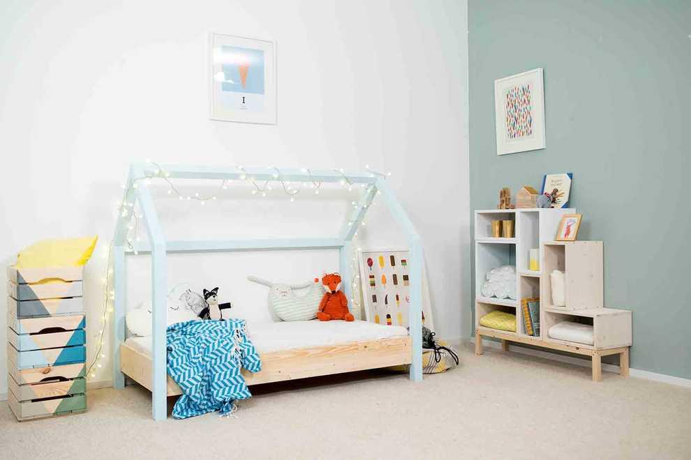 Kinderbett moritz selber bauen kinderm bel obi selbstbaum bel - Kinderbett gestalten ...