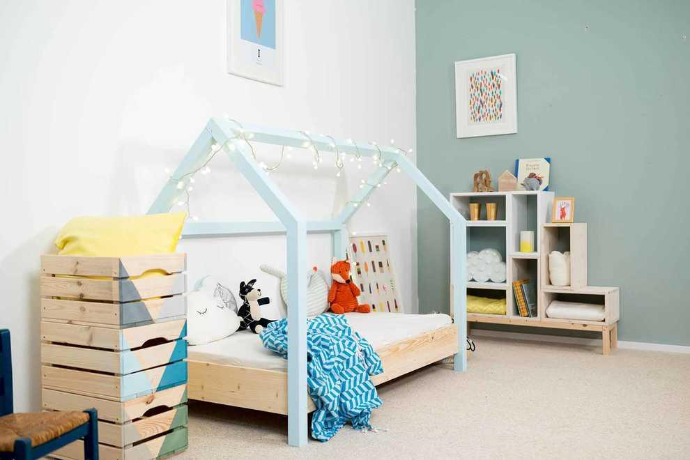 Super Kinderbett Moritz selber bauen - Kindermöbel - OBI Selbstbaumöbel IM09