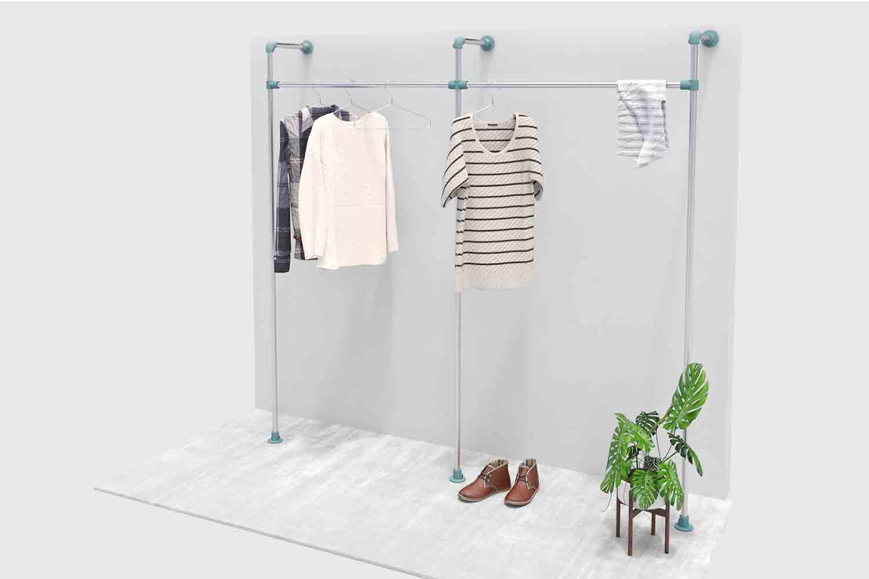 Kleiderstange halterung obi u wohn design