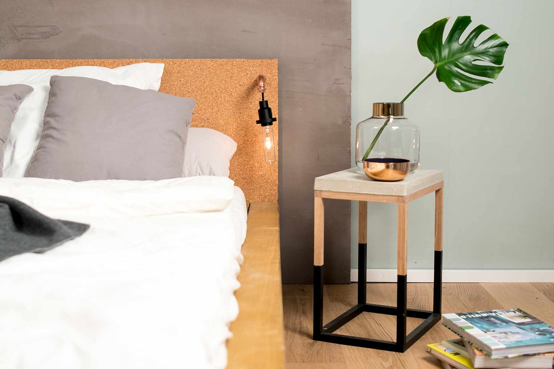 Auflage f r lattenrost bauen kreative ideen f r - Bett aus einwegpaletten ...